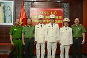 CATP Đà Nẵng: Điều động, giao nhiệm vụ phụ trách cho 3 cán bộ cấp phòng