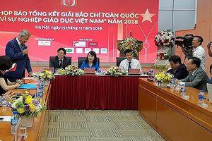 Trên 700 tác phẩm dự Giải Báo chí toàn quốc 'Vì sự nghiệp Giáo dục Việt Nam'