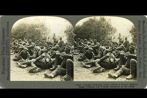 Những bức ảnh lập thể cực hiếm về Thế chiến I