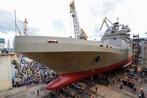 Siêu tàu đổ bộ hạng nặng của Hải quân Nga sắp được 'bơi' thử