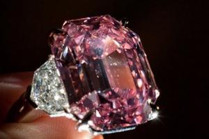 Viên kim cương hồng Pink Legacy giá 'khủng'' có tên mới