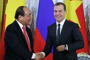 Thủ tướng Nga lần thứ tư thăm Việt Nam