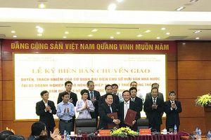 Ủy ban Quản lý vốn nhà nước tại doanh nghiệp hoàn tất tiếp nhận 19 tập đoàn, tổng công ty