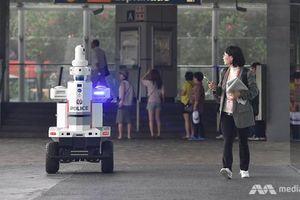 Singapore dùng robot tuần tra bảo vệ Hội nghị cấp cao ASEAN