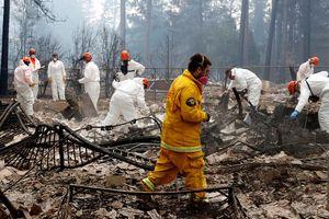California vật lộn đối phó bão lửa