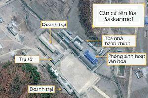 Hé lộ căn cứ tên lửa bí mật ở Triều Tiên