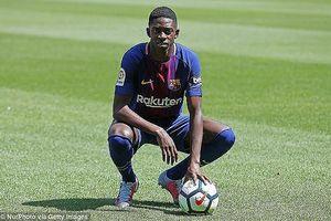 'Bom tấn' 145 triệu euro lên tiếng về khả năng rời Barcelona