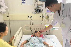 Bé 4 tuổi suýt mất mạng vì dùng lá lộc mại chữa táo bón