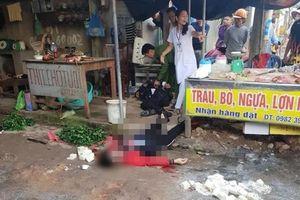 Đã xác định nguyên nhân vụ người phụ nữ bị bắn chết giữa chợ
