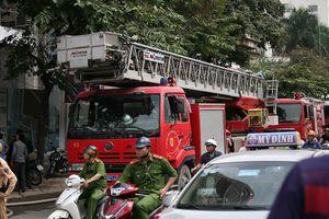 Cháy lớn ở Trung tâm lưu ký chứng khoán Việt Nam