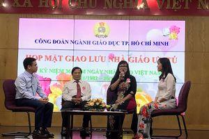 TPHCM: 21 nhà giáo được nhận danh hiệu Nhà giáo Ưu tú