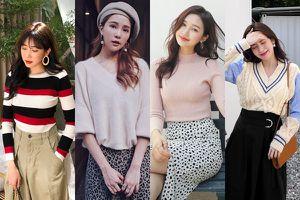 4 kiểu áo len dễ mix và cực xinh dành cho chị em đón gió lạnh đầu mùa