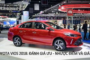 Toyota Vios 2018 có điểm gì nổi bật, giá bán bao nhiêu?