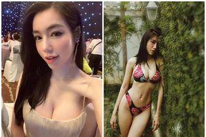 Elly Trần lại 'đốt' mắt fans bằng bikini nóng bỏng
