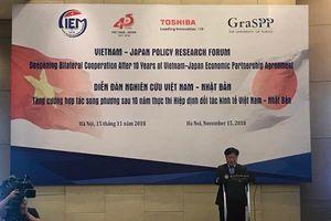 Việt Nam-Nhật Bản thúc đẩy hợp tác nhằm tối đa hóa lợi ích trong hội nhập