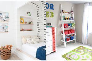 1001 ý tưởng sắp xếp để phòng riêng của bé yêu luôn gọn gàng, đẹp mắt