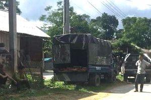 Kiểm tra xe tải chở gỗ, 3 cán bộ kiểm lâm bị hành hung