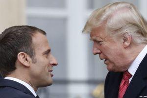 Pháp phản ứng với công kích của Tổng thống Mỹ