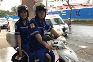Sở Y tế TP.HCM chỉ cho phép xe tay ga động cơ từ 100-125cc làm xe cấp cứu