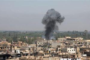Liên quân do Mỹ dẫn đầu sử dụng bom chùm khi không kích ở Syria