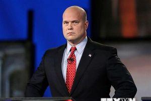 Bộ Tư pháp Mỹ bảo vệ việc Tổng thống Trump bổ nhiệm ông Whitaker