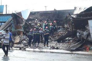 Bình Dương: Cháy cửa hàng văn phòng phẩm, một người tử vong