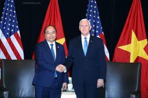 Thủ tướng Nguyễn Xuân Phúc: Hoa Kỳ là đối tác quan trọng của Việt Nam