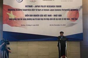 Nhiều cơ hội thúc đẩy hợp tác kinh tế Việt Nam - Nhật Bản