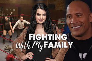 'The Rock' Dwayne Johnson trở lại màn ảnh với bộ phim về nữ đô vật Mỹ WWE 'Paige' Saraya-Jade Bevis
