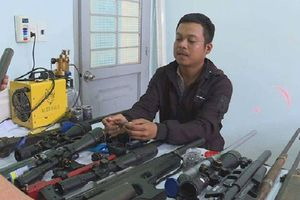 Đột kích bắt quả tang kho chế tạo súng quân dụng của thợ cắt tóc ở Đắk Lắk
