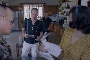 'Yêu thì ghét thôi: tập 22: Có biến! Ông Quang quác bị xã hội đen đến nhà siết nợ