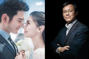 Dân mạng Trung Quốc xôn xao khi Trác Vỹ tung tin Huỳnh Hiểu Minh và Angelababy đã ly hôn