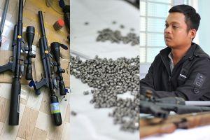 Bắt giữ thanh niên chế tạo gần chục khẩu súng tại nhà