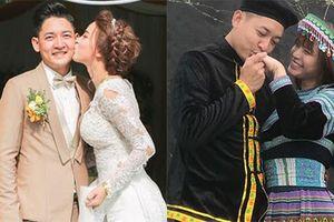 Ảnh tình tứ hết nấc của vợ chồng Hải Băng - Thành Đạt