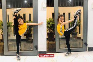 Ốc Thanh Vân khoe hình bé Cola uốn dẻo vô chuyên nghiệp dù chưa tham gia lớp học nào