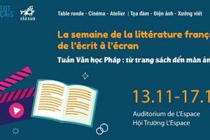 Tuần Văn học Pháp tại Việt Nam: Từ trang sách đến màn ảnh