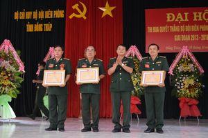 Đại hội Thi đua quyết thắng Bộ đội biên phòng tỉnh Đồng Tháp