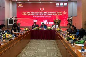 Gần 700 tác phẩm tham dự Giải Báo chí toàn quốc 'Vì sự nghiệp giáo dục Việt Nam'