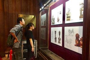 Triển lãm 'Tư liệu linh vật Nghê Việt'