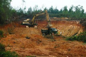 Tại Can Lộc - Hà Tĩnh: Cần kiểm tra việc khai thác mỏ đất ở xã Thường Nga