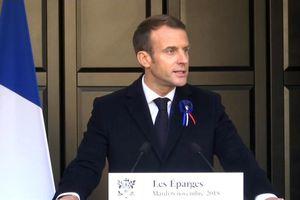 Tổng thống Pháp đáp trả những chỉ trích của ông Trump