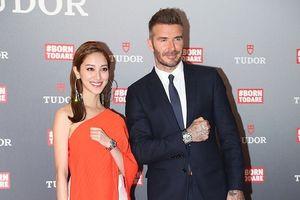 David Beckham điển trai, cười tươi khi gặp gỡ Hoa hậu Hồng Kông