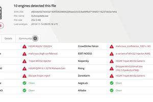 Tập tin danh sách khách hàng bị hacker phát tán có chứa mã độc