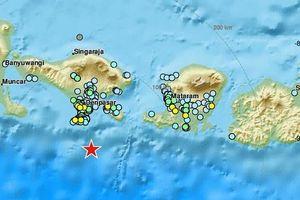 Động đất mạnh 5,3 độ richter rung chuyển Bali, Indonesia