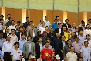 Thủ tướng Chính phủ, Chủ tịch Quốc hội có mặt tại SVĐ Mỹ Đình 'tiếp lửa' cho Đội tuyển Việt Nam