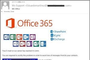 83% các cuộc tấn công của tin tặc nhằm vào email của nhân viên