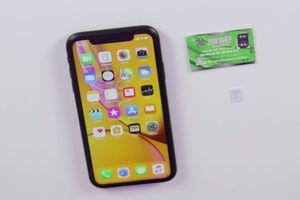 iPhone XR khóa mạng về VN - giá cao, ít người quan tâm