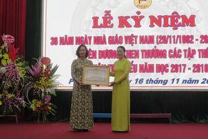 Ngành giáo dục Phú Xuyên đứng Top 10 thành phố