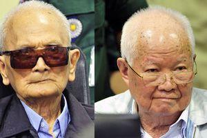 Hai cựu thủ lĩnh Khmer Đỏ lĩnh án chung thân vì tội diệt chủng