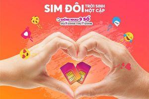 Vietnamobile ra mắt SIM đôi 'Trời sinh một cặp'